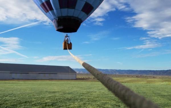Прив'язний політ на повітряній кулі