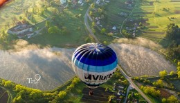 З якою швидкістю відбувається політ на повітряній кулі у Львові?